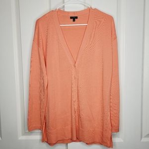 Talbots Spring Buttoned Front Cardigan